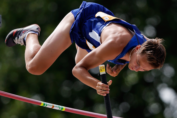 Estonia's Hans-Christian Hausenberg in the pole vault (Getty Images)
