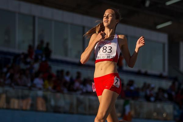 Anna Mark Helwigh at the 2016 European Athletics Youth Championships (Getty Images)