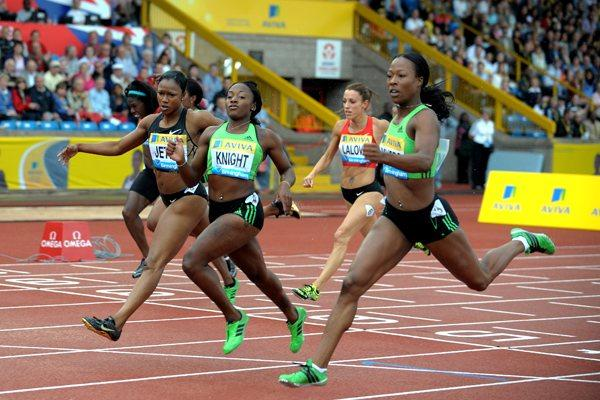 Bianca Knight takes the 200m at the Aviva Birmingham Grand Prix – Samsung Diamond League  (Mark Shearman)