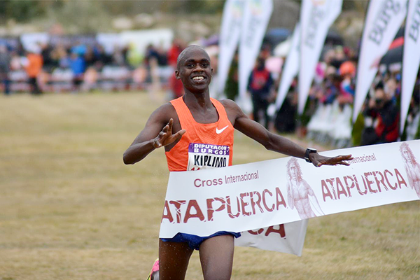 Jacob Kiplimo victorious in Burgos (Fundación ANOC)
