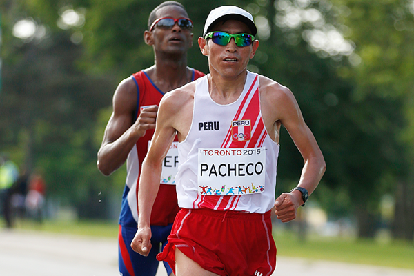Peruvian distance runner Raul Pacheco (Getty Images)