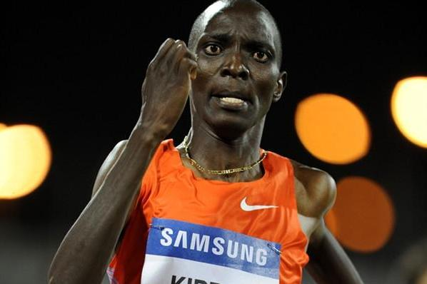 Asbel Kiprop cruises to a comfortable 1:44.74 win in Doha (Jiro Mochizuki)