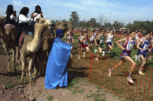 The 1998 World Cross Country Championships in Marrakech (Getty Images)