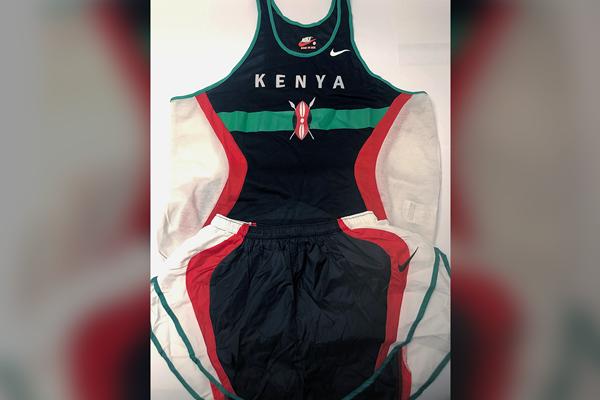 Kit di Paul Tergat del 1997 IAAF World Cross Country Championships (IAAF)