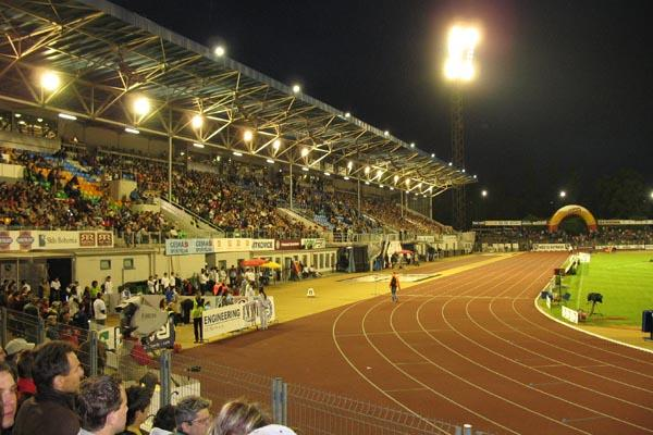 A general view of the Athletics stadium in Ostrava (Bob Ramsak)