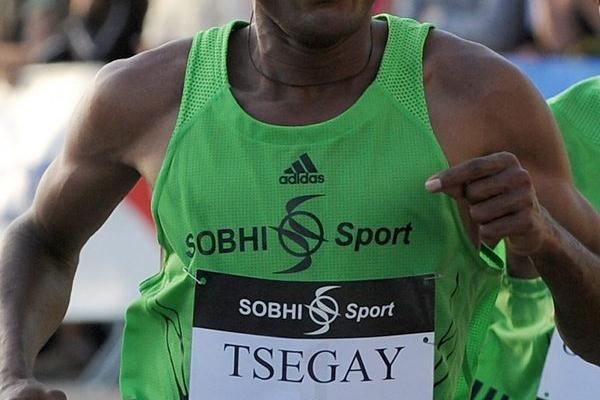 Langueux 10Km winner Atsede Tsegay (Michel Aubault)