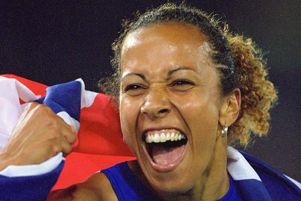 Kelly Holmes at the 2000 Olympic Games (Getty Images)