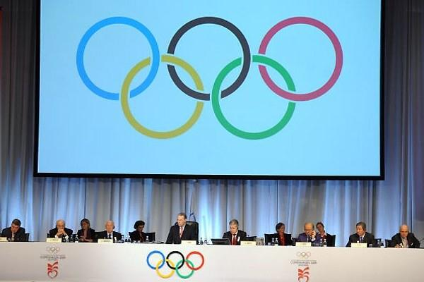 General view of IOC Executive Board during 121st Session of the International Olympic Committee (IOC) in Copenhagen, Denmark, 2 October 2009 (AFP / Getty Images)