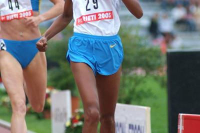 Maryam Jamal Yussuf victorious at the Rieti Grand Prix (Lorenzo Sampaolo)