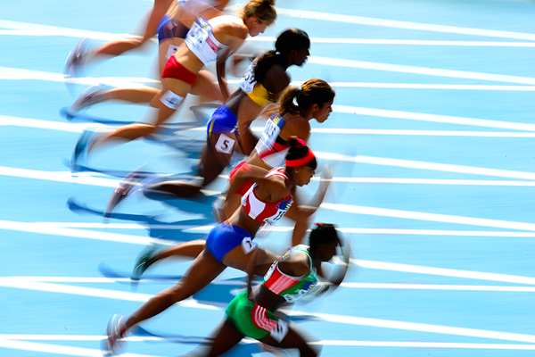 Athletes in action at the IAAF World U20 Championships (Getty Images)