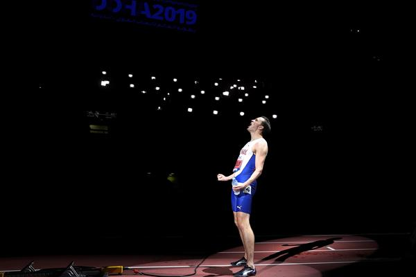 Karsten Warholm ahead of the 2019 World Championships 400m hurdles final (Getty Images)