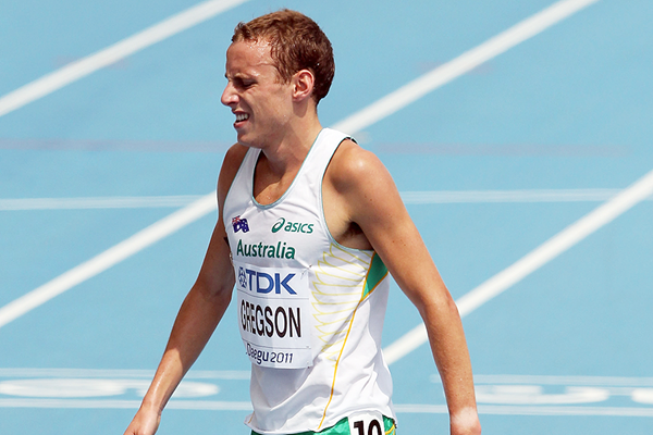 Ryan Gregson after the 1500m at the IAAF World Championships Daegu 2011 (Getty Images)