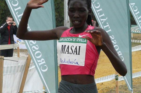 Linet Masai's reign in Spain continues (Miguel Alfambra)