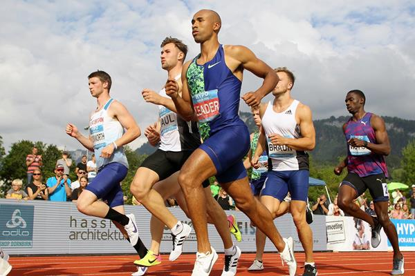Damian Warner in the decathlon 1500m at the Hypomeeting in Gotzis (Jean-Pierre Durand)