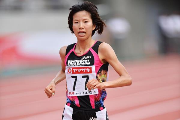 Hitomi Niiya wins the Japanese 10,000m title (Getty Images)