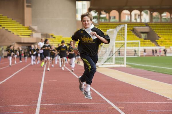 IAAF Kids Athletics programme in Monaco to mark the first ever International Day of Sport for Development and Peace (Philippe Fitte)