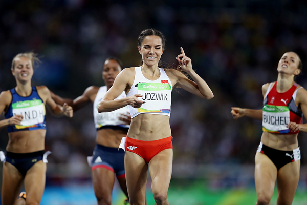 Joanna Jozwik in the 800m at the Rio 2016 Olympic Games (Getty Images)