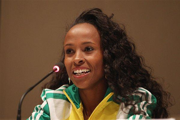 Meseret Defar on the eve of the World Indoor Championships in Istanbul (Getty Images)