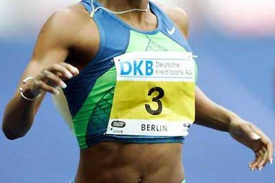 Sanya Richards wins in Berlin (Bongarts/Getty Images)