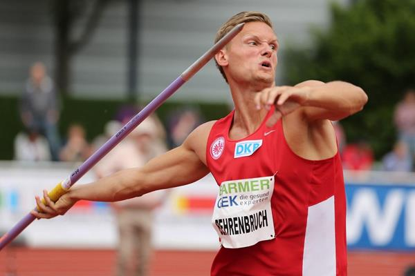 Pascal Benrenbruch at the 2013 IAAF Combined Events Challenge meeting in Ratingen (Glady von der Laage)