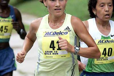 Russian Alevtina Ivanova - Crim 10 women's winner (Victah Sailer)