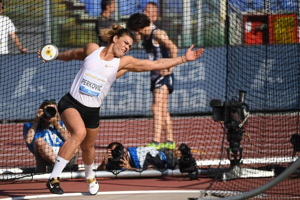 Another meeting record for Sandra Perkovic, this time in Rome (Hasse Sjogren)