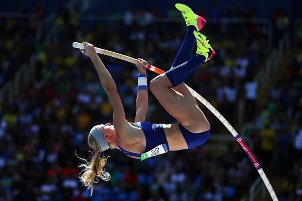 Sandi Morris at the Rio 2016 Olympic Games (Getty Images)