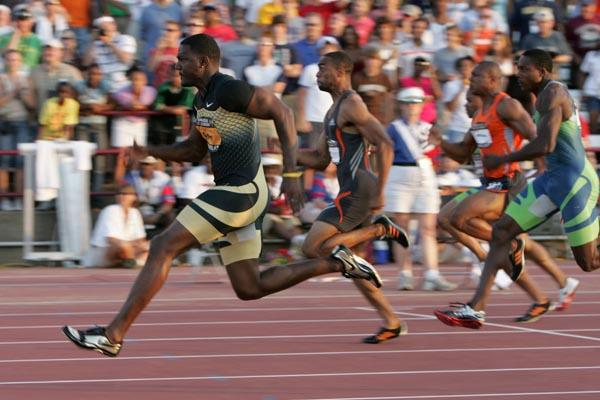 Command performance for Justin Gatlin - 9.93 at the USATF Championships (Getty Images)
