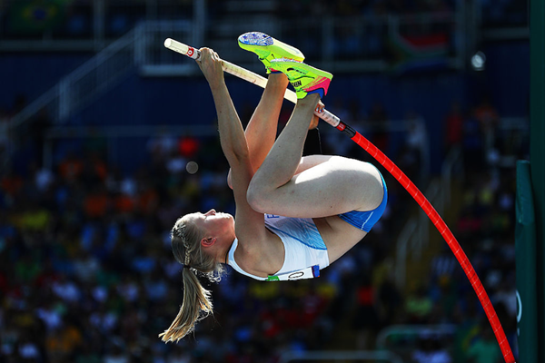 Wilma Murto competes at the Rio 2016 Olympics (Getty Images)