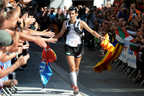 Kilian Jornet wins the North Face Ultra Trail (AFP / Getty Images)