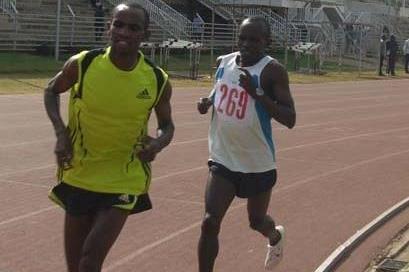Isaac Macharia, winner of the 5000m in Nairobi Provincial champs (Peter Njenga)
