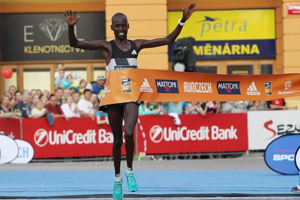 Barselius Kipyego triumphs at the Ceske Budejovice Half Marathon (RunCzech)