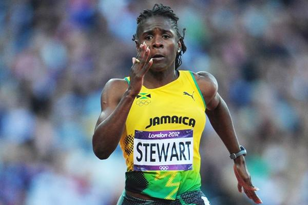 Jamaican sprinter Kerron Stewart (Getty Images)