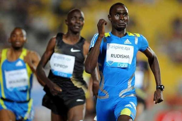 David Rudisha scorches 1:43.00 in Doha (Jiro Mochizuki)