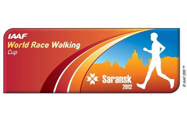 Saransk 2012 World Race Walking Cup Logo (IAAF )