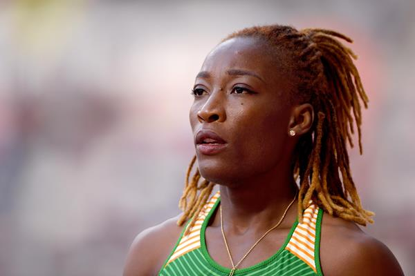 Marie-Josee Ta Lou at the IAAF World Athletics Championships Doha 2019 (Getty Images)