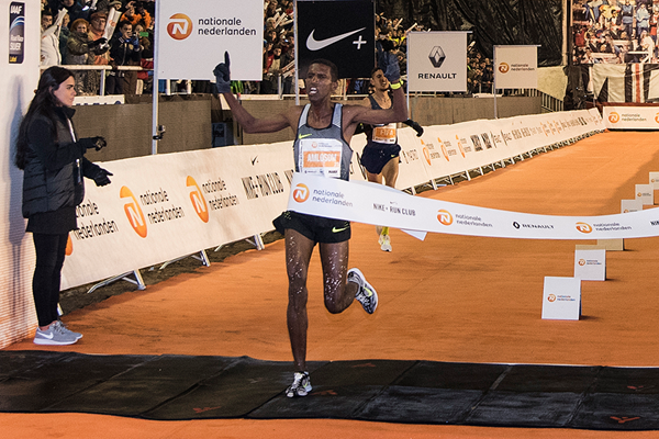Nguse Amlosom wins the San Silvestre Vallecana in Madrid (Organisers)