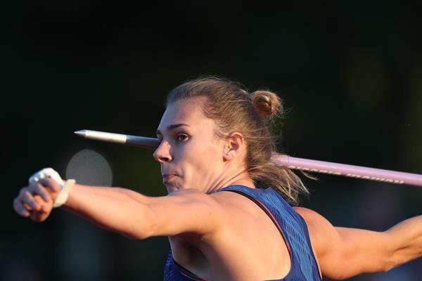 Sara Kolak, winner of the javelin at the Hanzekovic Memorial in Zagreb (Organisers)