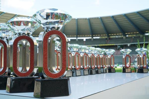 Diamond trophies in Brussels (Diamond League)