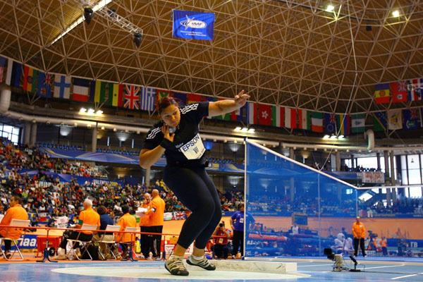 Valerie Vili in the women's shot (Getty Images)