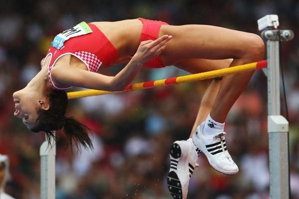 Blanka Vlasic qualifies for the Olympic high jump final (Getty Images)