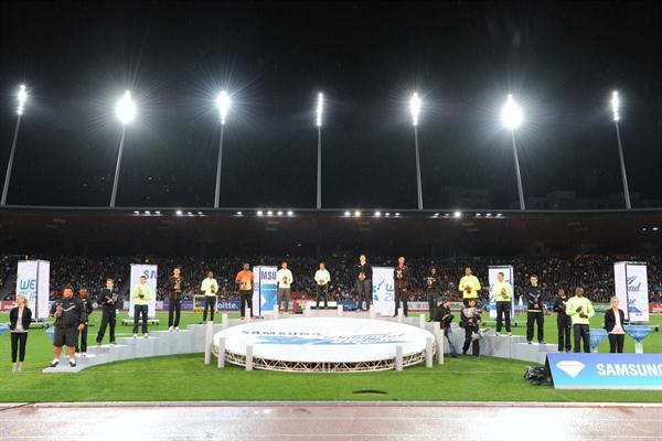 16 Diamond Race Winners - Zurich Final, Samsung Diamond League 2012 (Jiro Mochizuki)