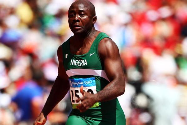 Nigerian sprinter Uchenna Emedolu (Getty Images)
