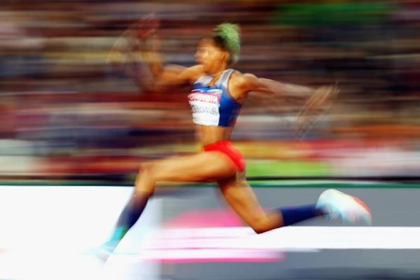 Yulimar Rojas at the IAAF World Championships London 2017 (Getty Images)
