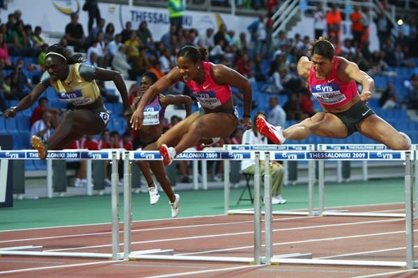Jamaica's Brigitte Foster-Hylton cements her world No.1 status in the 100m Hurdles with a victory in the World Athletics Final (Getty Images)