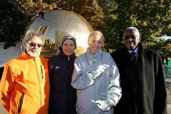 Allan Steinfeld, Grete Waitz, Paula Radcliffe, Lamine Diack (Victah Sailer)