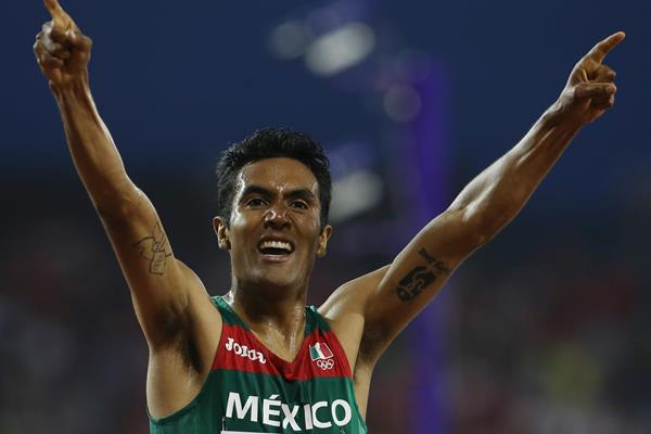 Mexican distance runner Juan Luis Barrios (Getty Images)