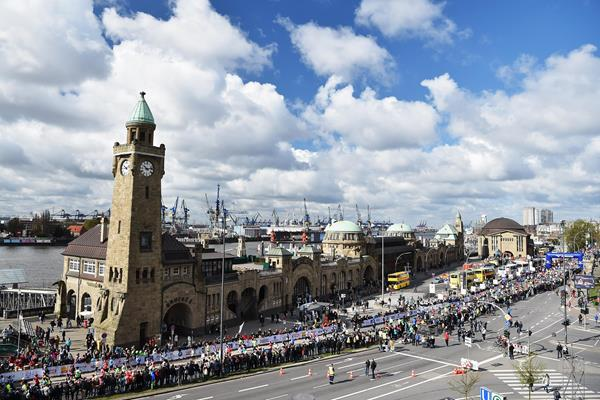 The Hamburg Marathon (Getty / Bongarts)