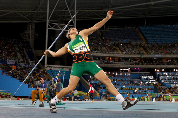 Sunette Viljoen in the javelin at the Rio 2016 Olympic Games (Getty Images)