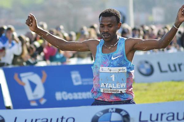 Aweke Ayalew wins in San Sebastian (Fundación ANOC)